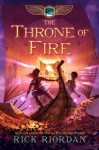 The Kane Chronicles - Book 2 The Throne of Fire - Rick Riordan