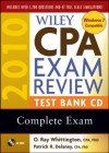 Wiley CPA Exam Review 2010 Test Bank CD - Complete Set - NOT A BOOK, O. Ray Whittington