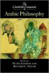 The Cambridge Companion to Arabic Philosophy - Richard Taylor, Peter Adamson