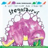 Mini Dinosaurs: Stegosaurus: A Lift-the-Flap and Stand-Up - David Hawcock