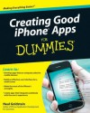 Creating Good iPhone Apps for Dummies - Neal Goldstein