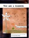 You are a warrior. - Katie Yackley Moore, Lucy Moore, Niko Moore, Sophia Moore, Micah Moore