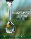 Environmental Science - Daniel B. Botkin, Edward A. Keller