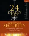 24 Deadly Sins of Software Security (eBook) - Michael Howard, David LeBlanc, John Viega