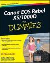 Canon EOS Rebel XS/1000D for Dummies - Julie Adair King