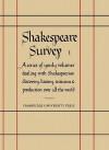 Shakespeare Survey 1: Shakespeare and His Stage - Allardyce Nicoll