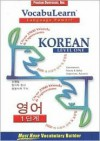 Vocabulearn Korean Level 1 [With Booklet] - Penton Overseas Inc., Penton Overseas Inc.