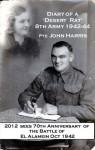 Diary of a 'Desert Rat' 8th Army 1942-44 - John Harris