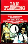Dr No/Moonraker/Thunderball/From Russia with Love/On Her Majestys Secret Service/Goldfinger - Ian Fleming