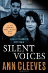 Silent Voices: A Vera Stanhope Mystery by Cleeves, Ann (2013) Hardcover - Ann Cleeves