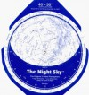 The Night Sky 40°-50° (Large) Star Finder - David S. Chandler, David Chandler Company, Milky Way by Don Davis