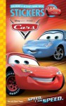 Disney Cars: I am Speed Coloring & Activity Book with Stickers - Dalmatian Press