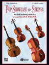 Pop Showcase for Strings (for Solo or String Orchestra): Piano Acc. - Jack Bullock