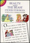 Beauty and the Beast Sticker Storybook - Thea Kliros