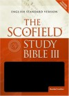 The ScofieldRG Study Bible III, ESV Black - C. I. Scofield