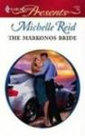 The Markonos Bride (Greek Tycoons) (Modern Romance, #753) - Michelle Reid
