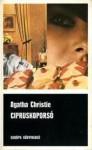 Cipruskoporsó [Fekete könyvek] - Erzsébet Zombory, Agatha Christie