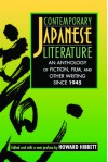 Contemporary Japanese Literature: An Anthology of Fiction, Film, and Other Writing Since 1945 - Howard Hibbett