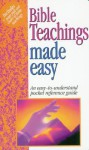 Bible Teachings Made Easy: Answers to Tough Bible Questions - Mark Water