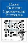 Easy French Crossword Puzzles - R. De Sales