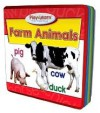 Farm Animals Play & Learn Foam Puzzle Book (Play & Learn Foam Puzzle Books) - Kim Mitzo Thompson, Karen Mitzo Hilderbrand