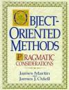 Object Oriented Methods: Pragmatic Considerations - James J. Martin, James J. Odell