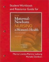 Student Workbook and Resource Guide for Olds' Maternal-Newborn Nursing & Women's Health Across the Lifespan - Michele R. Davidson, Marcia L. London, Patricia W. Ladewig