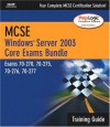 MCSE Windows Server 2003 Core Training Guide (Exams 70-290, 70-291, 70-293, & 70-294) - Que Corporation, Ed Tittel