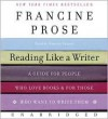 Reading Like a Writer CD - Francine Prose, Nanette Savard
