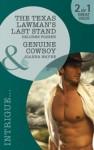 The Texas Lawman's Last Stand / Genuine Cowboy - Delores Fossen, Joanna Wayne