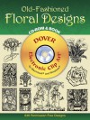 Old-Fashioned Floral Designs CD-ROM and Book - Dover Publications Inc.
