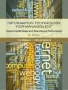 Information Technology for Management: Improving Strategic and Operational Performance, 8th Edition - Linda Volonino, Efraim Turban