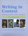 Writing in Context: Paragraphs and Essays with Readings - Kirszner & Mandell, Stephen R. Mandell