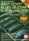 Mel Bay presents West Coast Blues Guitar Play-A-Long Trax Booklet/2-CD Set - David B. Barrett