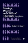 Marriage, Divorce, and Children's Adjustment - Robert E. Emery