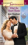 What the Heart Wants (9 Months Later, #28) - Jean Brashear