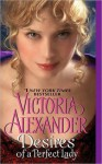 Desires of a Perfect Lady (Harrington Brothers, #2) - Victoria Alexander