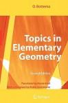 Topics in Elementary Geometry - O. Bottema, Robin Hartshorne, Reinie Erné