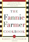 The Fannie Farmer Large Print Cookbook - Fannie Merritt Farmer, Jeri Laber, Marion Cunningham, Amy Pastan