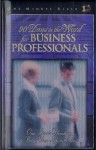 90 Days in the Word for Business Professionals: One Minute Bible - Daily Devotions That Bring God's Word to the Business World - Lawrence Kimbrough, J.I. Packer
