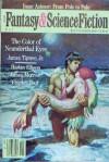The Magazine of Fantasy and Science Fiction, May 1988 - Edward L. Ferman, Isaac Asimov, James Tiptree Jr., Harlan Ellison, James K. Morrow, Charles Platt