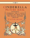 Cinderella Picture Book - Containing Cinderella, Puss in Boots & Valentine and Orson - Walter Crane