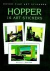 Hopper: 16 Art Stickers - Edward Hopper