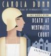 Death at Wentwater Court: A Daisy Dalrymple Mystery - Carola Dunn, Bernadette Dunne