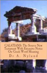 GALATIANS: The Source New Testament With Extensive Notes On Greek Word Meaning - Ann Nyland