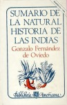 Sumario de La Natural Historia de Las Indias - Gonzalo Fernandez de Oviedo, Gonzalo, Fondo de Cultura Economica
