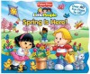 Fisher-Price Little People Lift the Flap Book Spring is Here! - Reader's Digest Association, SI Artists