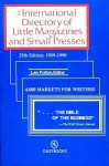 International Directory of Little Magazines and Small Press, 1989-90 - Len Fulton