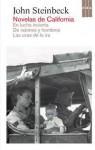 Novelas de California: En lucha incierta / De ratones y hombres / Las uvas de la ira - John Steinbeck, Miguel Temprano García, Román A. Jiménez, Pilar Vázquez