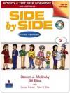 Side by Side 2 Activity Test Prep Workbook w/Answer Key & CDs - Steven J. Molinsky, Bill Bliss